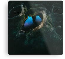 In the Forest of the Night Metal Print