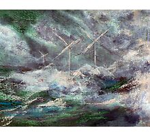 Farming the wind Photographic Print