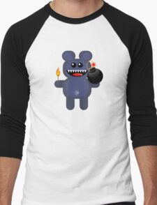 BEAR 4 Men's Baseball ¾ T-Shirt