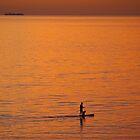 Orange Paddle by Natasha M