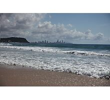 The Sparkling Gold Coast Photographic Print