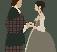 Jamie & Claire Fraser I - Outlander by Mivaldi