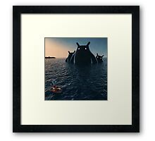 The Wonders of the Sea Framed Print