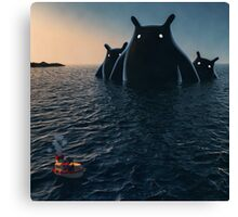 The Wonders of the Sea Canvas Print