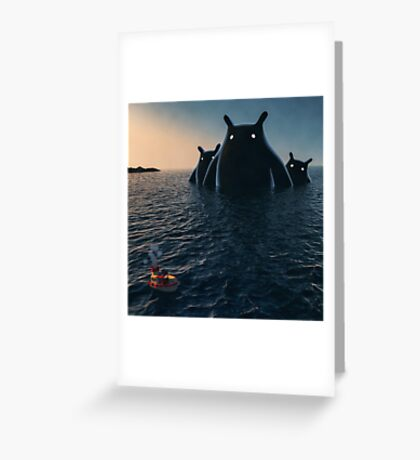 The Wonders of the Sea Greeting Card