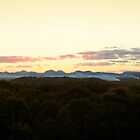 Warrumbungle Ranges, NSW. by Andy Newman