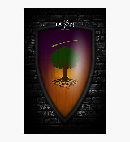 Ser Duncan the Tall: The Hedge Knight Photographic Print