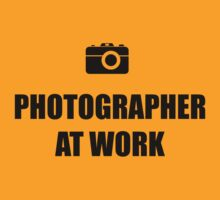 Photographer At Work - Light by Onny Carr