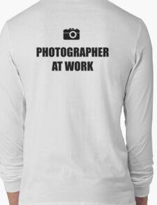 Photographer At Work - Light Long Sleeve T-Shirt