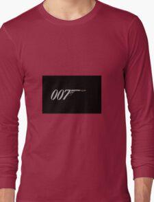 James Bond 007  Long Sleeve T-Shirt