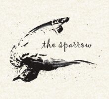 The Sparrow tee, dark version by Margaret Bryant