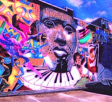 Edgewood Avenue Corridor Mural, Atlanta, Georgia by Scott Mitchell