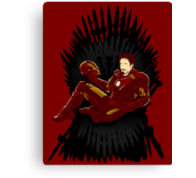 Iron Throne Canvas Print