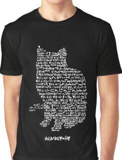 Schrodinger's equation Graphic T-Shirt