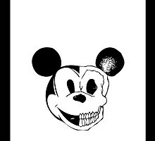 Mickey Mouse Skull by loladesign