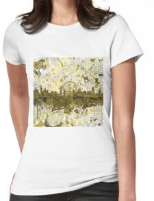 London skyline 4 Womens Fitted T-Shirt