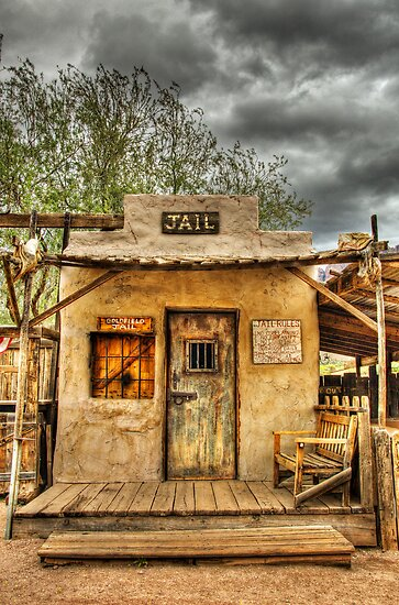Goldfield Ghost Town - Jail  by Saija  Lehtonen