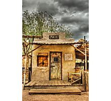 Goldfield Ghost Town - Jail  Photographic Print