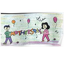 Mother day kid Poster