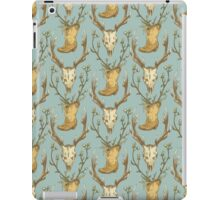 Cowboy Pattern iPad Case/Skin