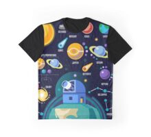 Universe Concept Isometric Graphic T-Shirt