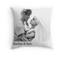 Barbie & Ken Throw Pillow