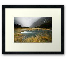 Fiordland Torrent Framed Print