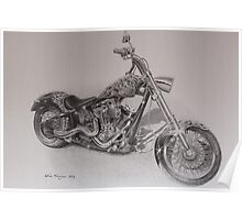 Custom chopper Poster