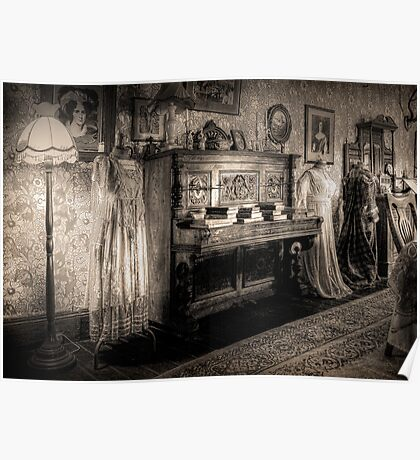 The Parlour ~ sepia Poster