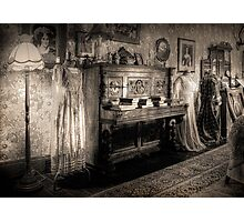 The Parlour ~ sepia Photographic Print