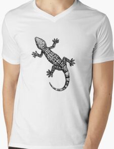 Gecko Mens V-Neck T-Shirt