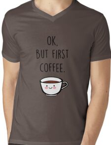 Coffee Mens V-Neck T-Shirt