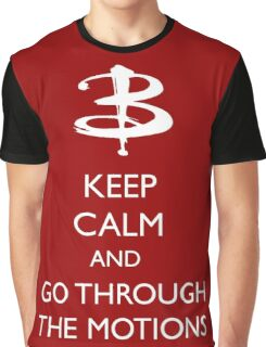 Go through the motions Graphic T-Shirt