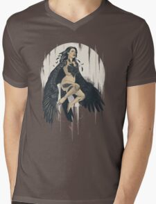 As the Crow Flies Mens V-Neck T-Shirt