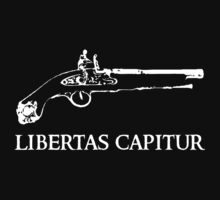 "Libertas Capitur (Latin: ""Freedom is won"") by kuehnebe"