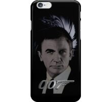 "James Bond 007 ""Bonded"" Connery/Craig full circle 2 iPhone Case/Skin"