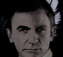 "James Bond 007 ""Bonded"" Connery/Craig full circle 2 Sticker"
