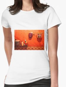 bathroom atmosphere Womens Fitted T-Shirt