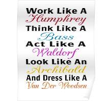 Be Like Gossip Girl Poster