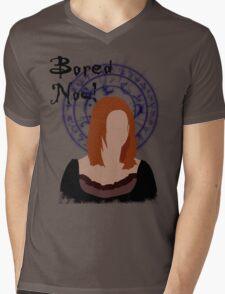 Bored now! Mens V-Neck T-Shirt