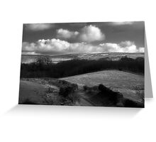 Pennine View from Brampton Railway Station Greeting Card