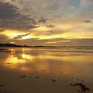 autumn skies, sunrise. eastcoast, tasmania by tim buckley | bodhiimages