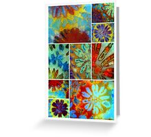 Ocean Flowers Greeting Card