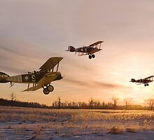 WW1 - Dawn Patrol by Pat Speirs