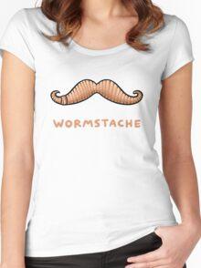 Wormstache Women's Fitted Scoop T-Shirt