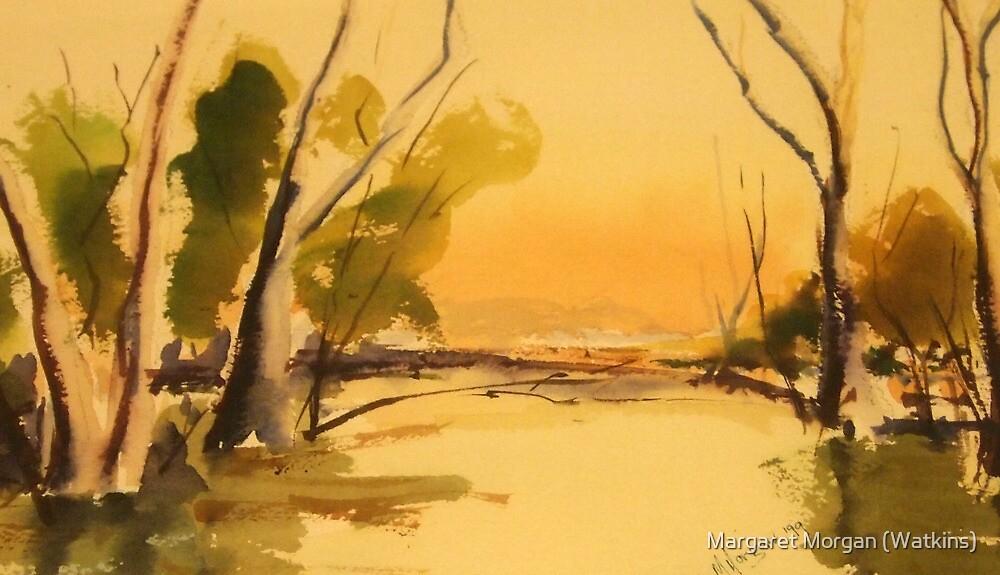 Reflections - Victoria - Australia by Margaret Morgan (Watkins)