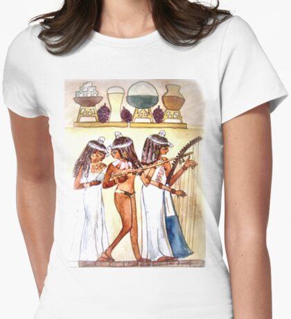 Egyptian Musicians/ PHONE CASE/TEE SHIRT/BABY GROW/STICKER/ART Womens Fitted T-Shirt