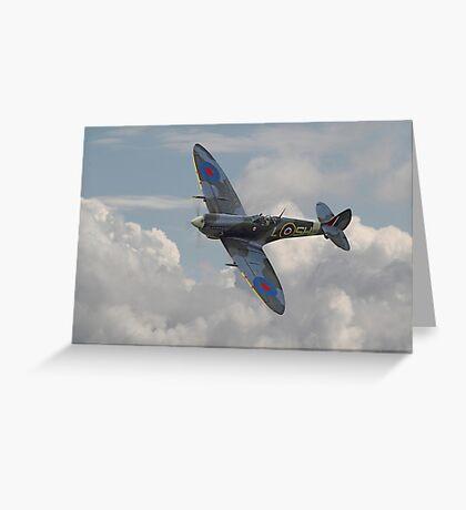 Spitfire - Elegant Icon Greeting Card