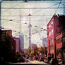 Grunge Toronto - CN Tower by Elyssa Long