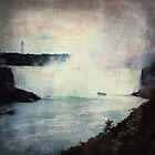 Grunge Niagara Falls by thebrink